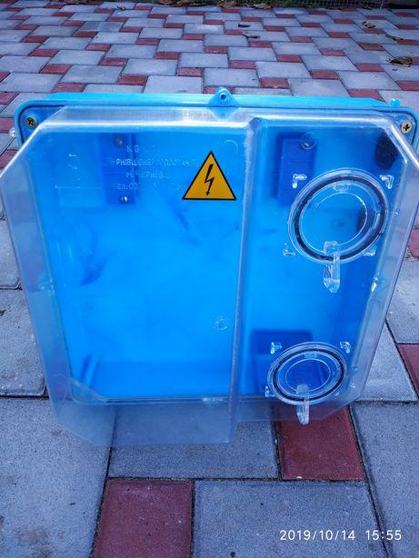 Пластиковый шкаф для электросчётчикп