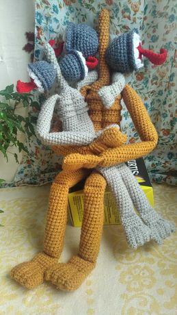 Вязаные игрушки Сиреноголовый вязаный крючком подарок новый год