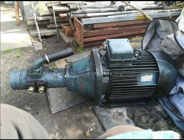 Silnik siłowy elektryczny 15 kw pompą hydrauliczną przewody