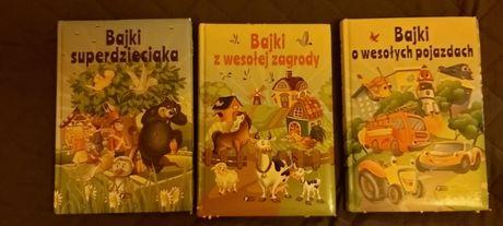 Bajki dla dzieci 3 książki