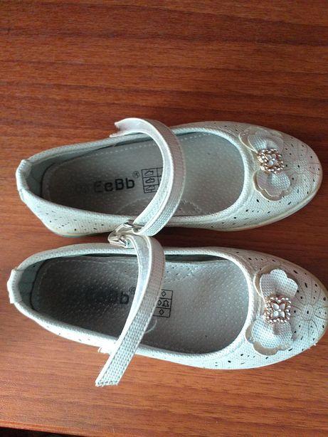 Продам туфлi на дiвчинку.