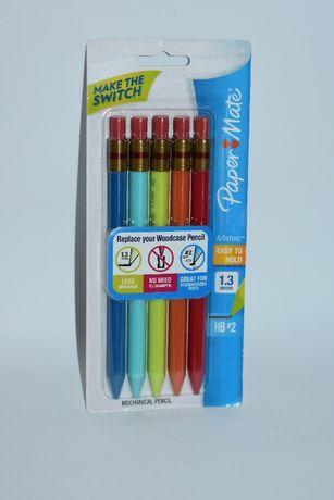 новый набор механических карандашей paper mate easy to hold 5 pack mec