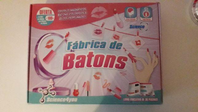Kit Fábrica de Batons - Science4you - novo