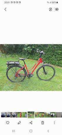 rower elektryczny damski