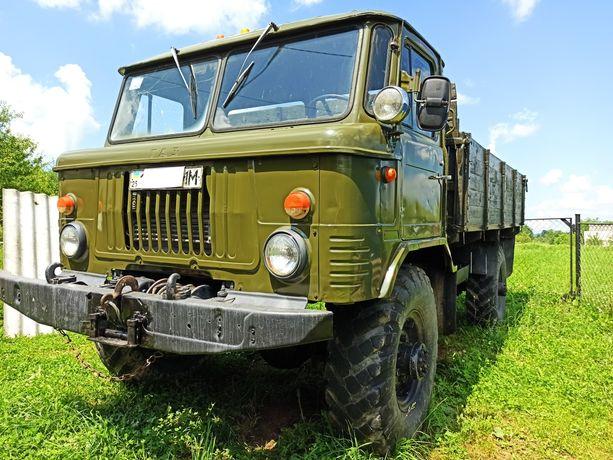 ГАЗ 66 з документами(малий пробіг)