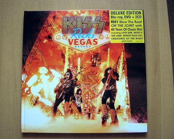 Kiss Rocks Vegas - Limited BOX : Blu-Ray + DVD +2CD