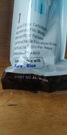 2 x Jura blue filtry