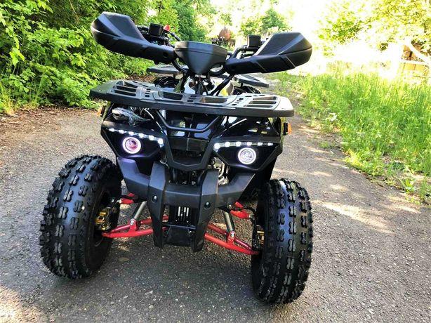 Квадроцикл бензиновый 125сс. новый HUNTER, 11-14 лет