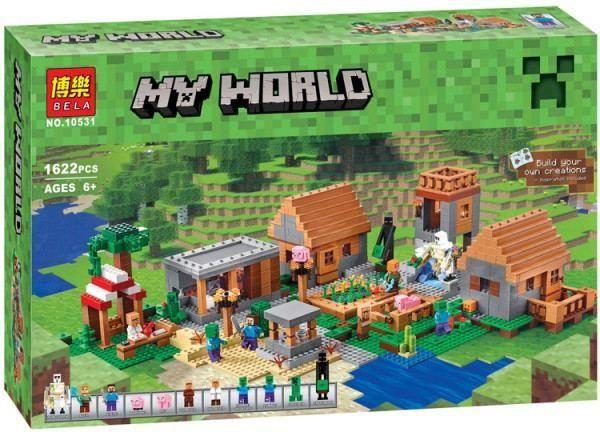 "Конструктор Майнкрафт Bela 10531 ""Деревня"" Minecraft (ЛЕГО LEGO 21128)"