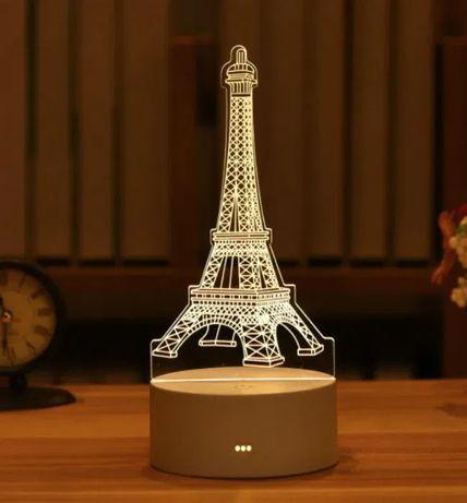 3D-ночник, отличный подарок на 8 марта