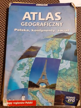 Atlas geograficzny.