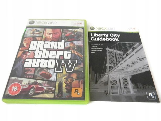 Gta 4 Iv I V Grand Theft Auto Xbox 360 / Xbox One