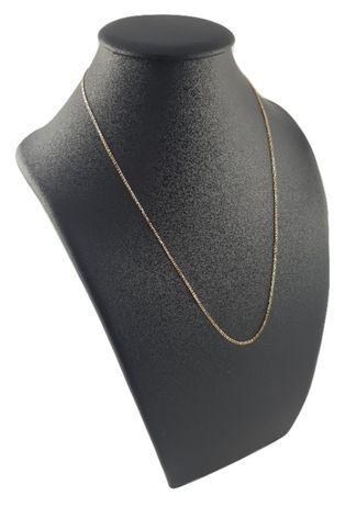 Piękny złoty łańcuszek pr. 585 lisi ogon