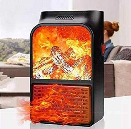 Портативный обогреватель c LCD дисплеем Flame Heater Plus 500W Камин