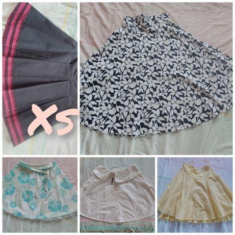 Sprzedam spódnice damskie XS 34 orsay carry cropp vero moda bawełna
