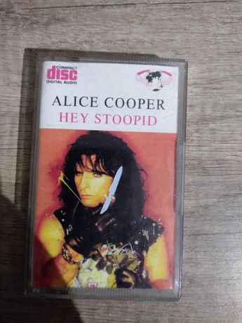 ALICE COOPER - Hey Stoopid - kaseta na wypasie