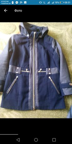 Кашемірове пальто 52-54 розмір