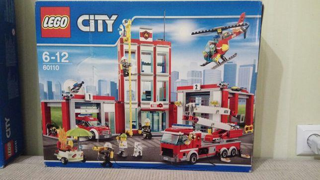 Lego Лего оригинал пожарная часть 60110
