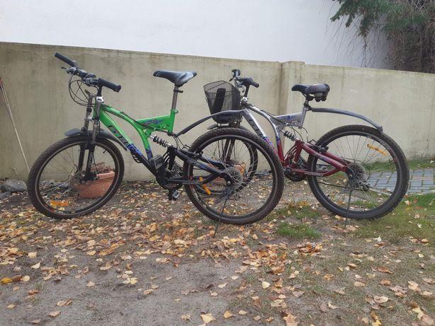 Dwa Rowery górskie