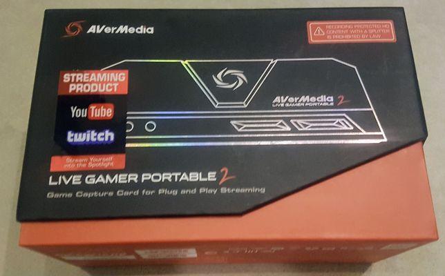 Rejestrator obrazu AVERMEDIA Live Gamer Portable 2 GC510