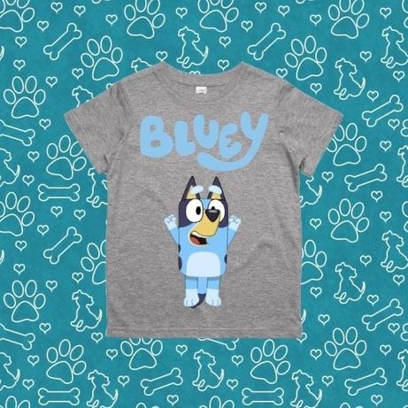 Tshirt bluey criança varios tamanhos
