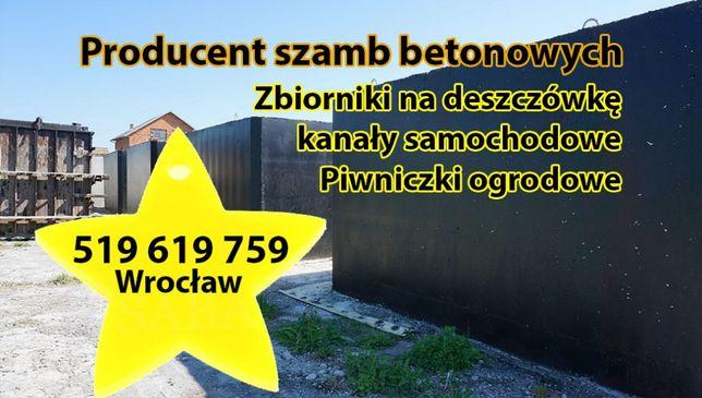 Szamba betonowe 5m3 zbiornik na6 szambo zbiorniki deszczówkę 10 12 8 4