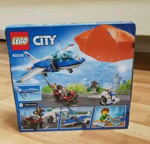 LEGO City Aresztowanie spadochroniarza 60208 WYSYŁKA!!!