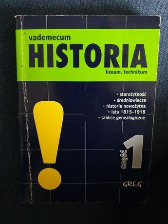 Vademecum Historia liceum, technikum- część 1