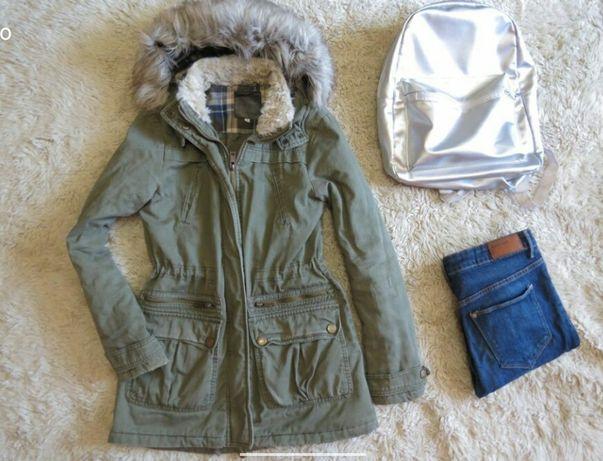 Женская парка куртка New Look весенняя жіноча курточка демі р.12 M-L