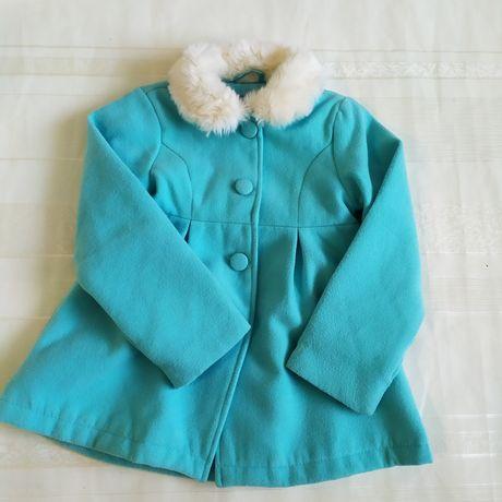 Пальто Деми на 6-7 лет