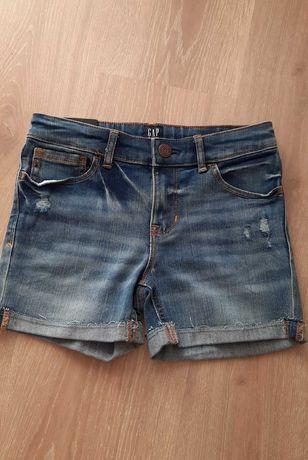 Джинсовые шорты GAP для девочки,новые,с биркой. 8 лет