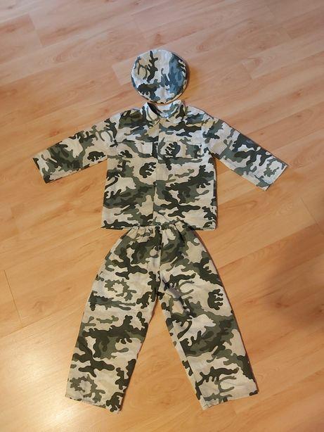 Strój kostium karnawalowy zolnierza 98/104