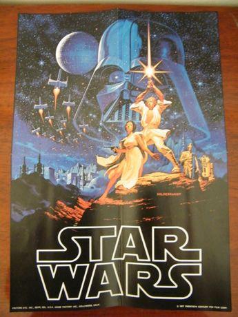 Star Wars/A Guerra das Estrelas, 1977, Poster Vintage