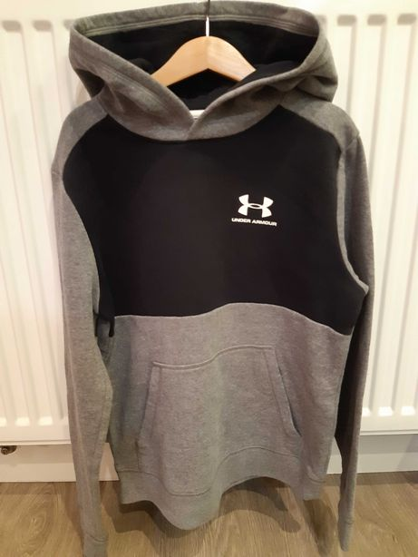 Under Armour bluza z kapturem, rozm. YMD(10-12 lat), 137-149cm