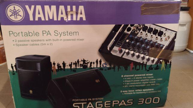 Yamaha system nagłośnieniowy