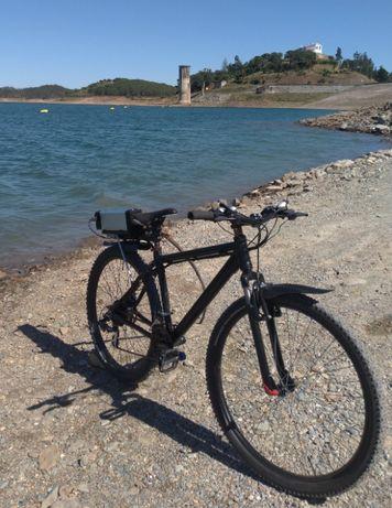 Bicicleta eletrica 36V 250W novo Bateria Lithium Ion 36V 18.2Ah 150km