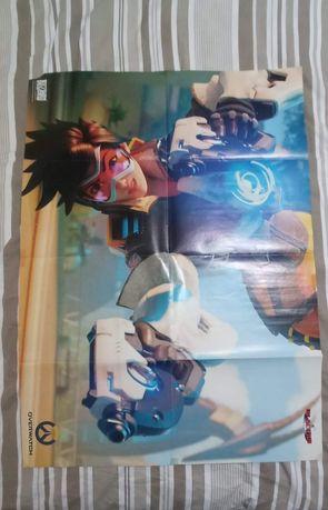 Plakat Overwatch / Mirror's Edge