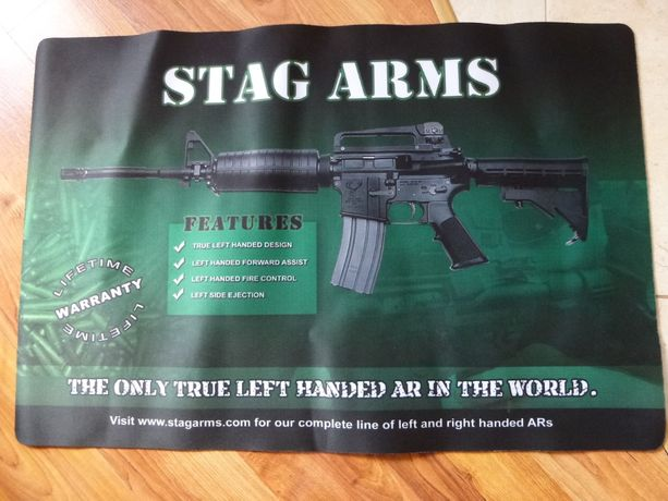 Stag Arms AR15 podkładka pod myszkę, komputer, do czyszczeni broni
