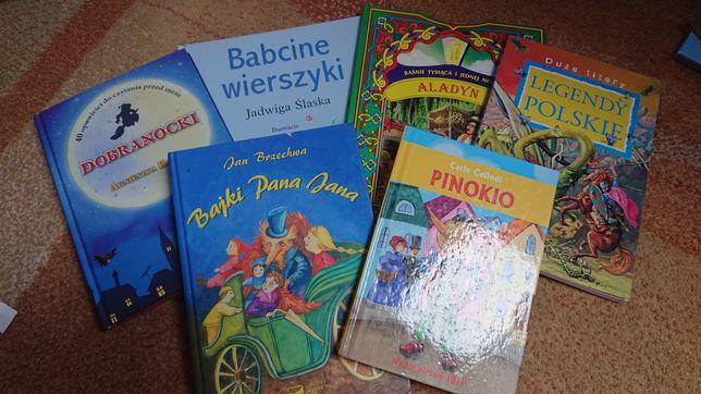 Książki 6 różne rodzaje.