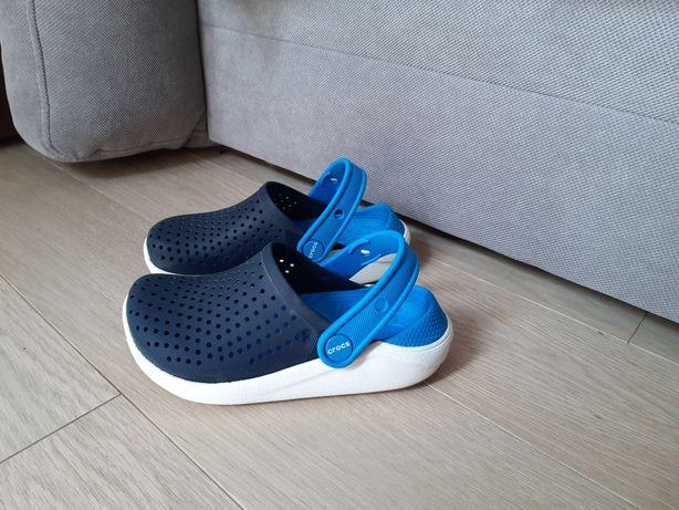 Crocs lite ride на мальчика размер С12,продам кроксы