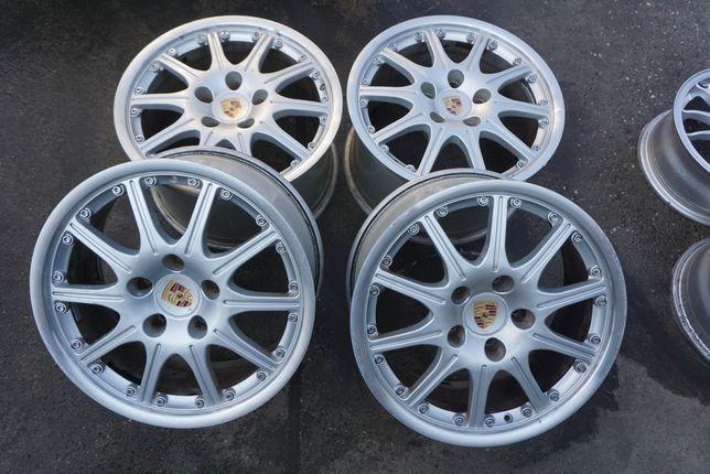 "8.5/10J 18"" 5x130 Porsche 911 977 Carerra Turbo replika Bbs Rs 721 oz"