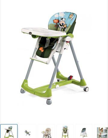 Krzesełko do karmienia Peg Perego Prima Pappa Diner Happy Farm