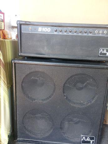 B100 болгарский усилитель бас гитары
