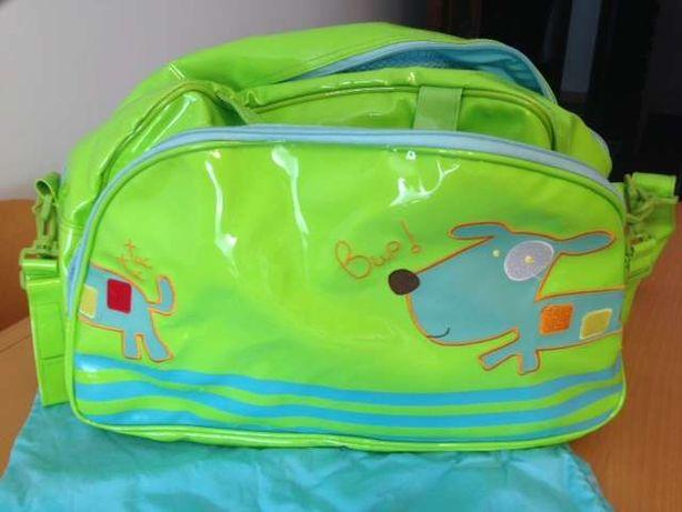 Mala /Saco Maternidade TUC TUC - 2 bolsas + Muda Fraldas - Como NOVO