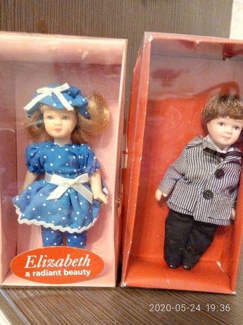 коллекционные фарфоровые куколки