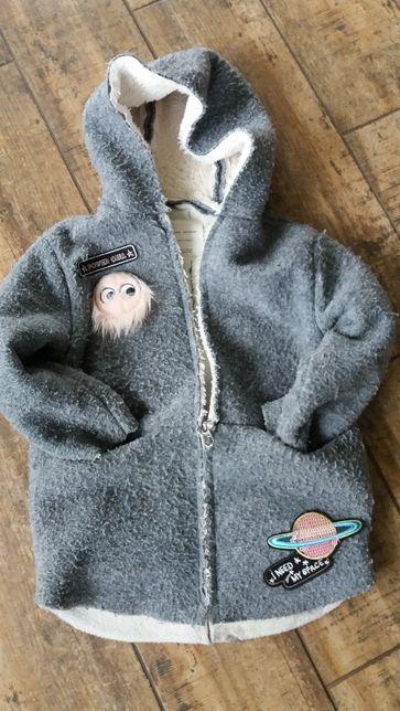 Zara kurtka jesienno-zimowa dla dziewczynki 122