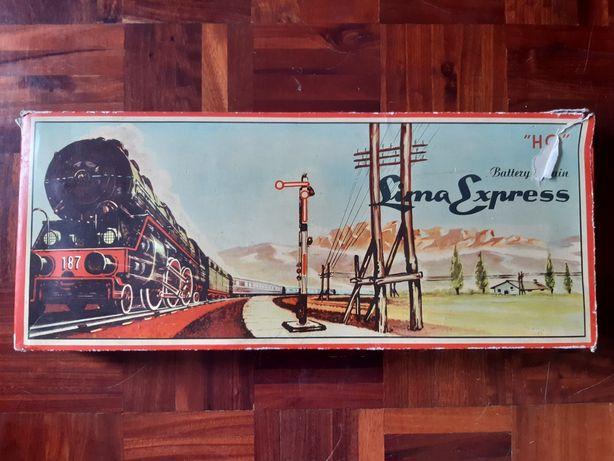 Comboio antigo Lima Express