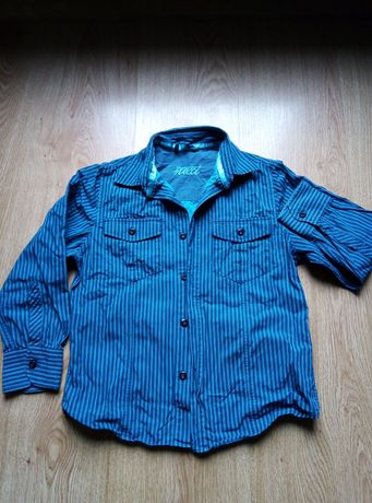 Koszule dla chłopca rozmiar 122 cena za 5szt.