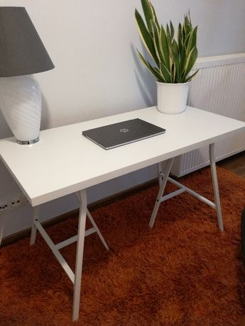 Biurko/stół Ikea Linnmon/Lerberg biały