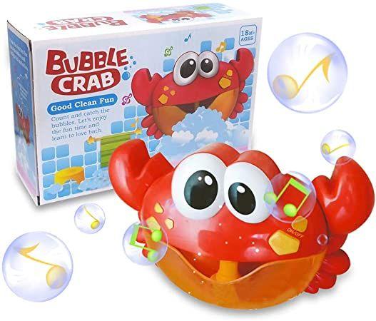 Bąbelkowy Krab dla Najmłodszych ! Wesołe Mycie w Wannie
